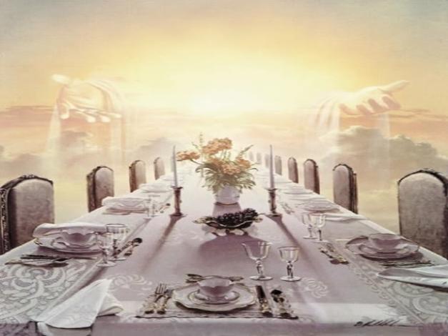 Matrimonio En La Biblia : Son las bodas y la cena del cordero en el cielo … ¡otro